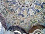 Мозаика в куполе Баптистерия ортодоксов